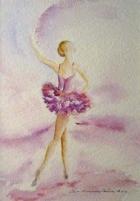 Ballerina. Auli Muurinen-Kitula