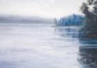 """Kortti 7. Postikortti Aihe: """"Maisema Kakskerran järveltä""""."""